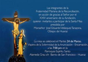 20150324 Misa FMR Huaraz