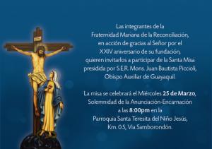 20150325 Misa FMR Guayaquil
