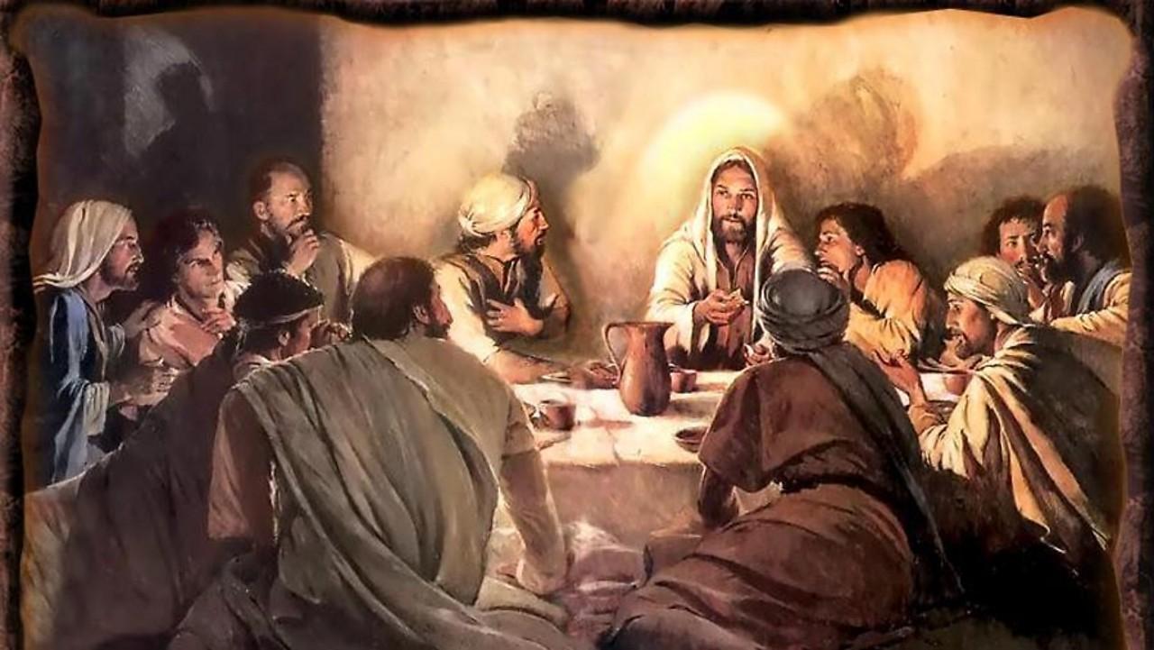 JESUS E APOSTOLOS