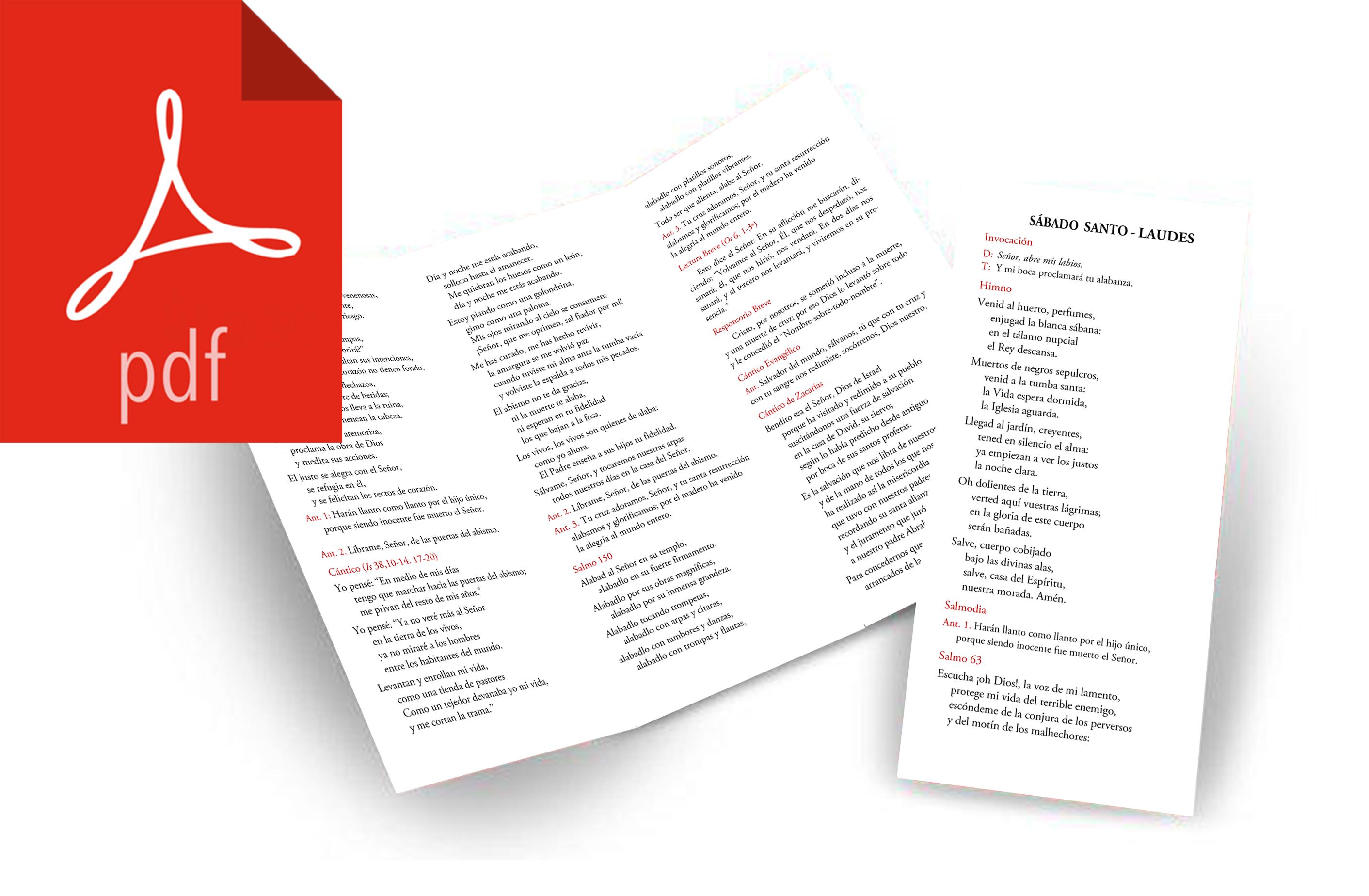 triptico laudes sabado pdf