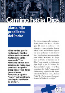 CHD 063 María Hija predilecta del Padre 300x426px