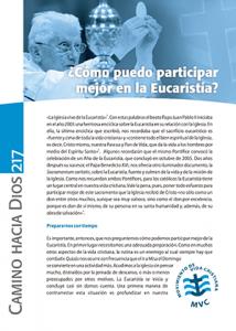CHD 217 may2012 Cómo puedo participar mejor en la Eucaristía 300x420px
