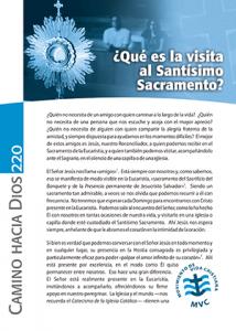 CHD 220 jun2012 Que es la visita al Santísimo Sacramento 300x420px