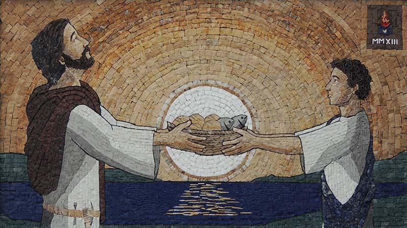 2013 Multipliciación de  los panes y los peces