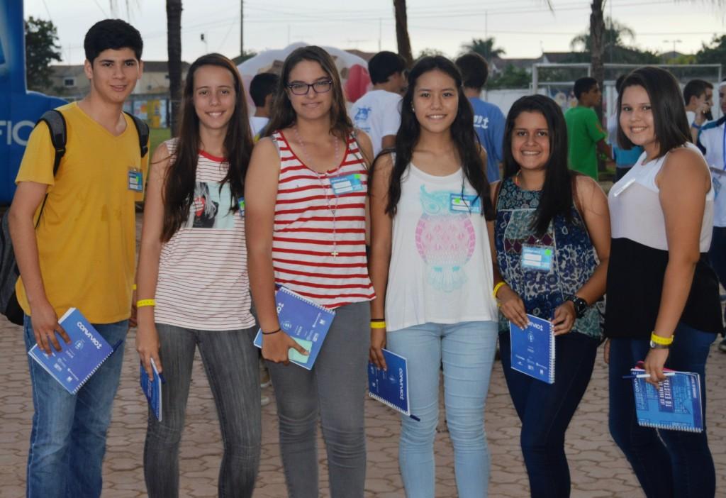 Jóvenes participantes - Convivio -2015