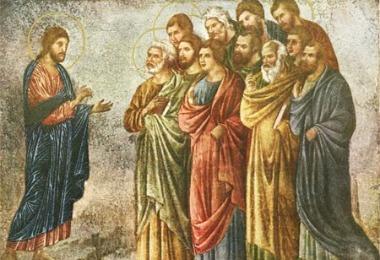Jesús y apóstoles