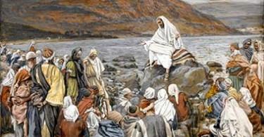 Jesus Teaches the People by the Sea (Jésus enseigne le peuple près de la mer) DESTAQUE