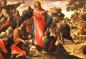 Multiplicación de panes - Jesús - Milagro - MVC