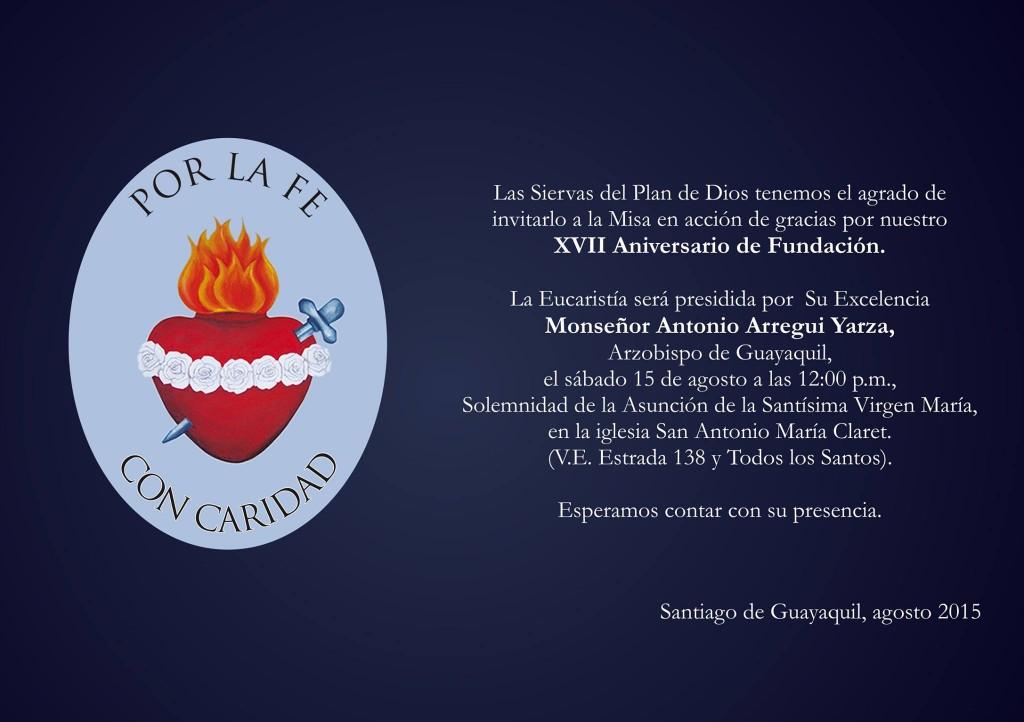 Aniversario-Siervas-del-Plan-de-Dios-Ecuador
