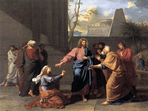 Jean-Germain_Drouais_-_The_Woman_of_Canaan_at_the_Feet_of_Christ_-_WGA06696 (1)