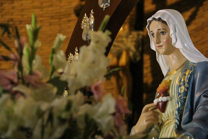 Procesión-Hermandad-Nuestra Señora de la Reconciliación-NSR--Movimiento -de-Vida-Cristiana