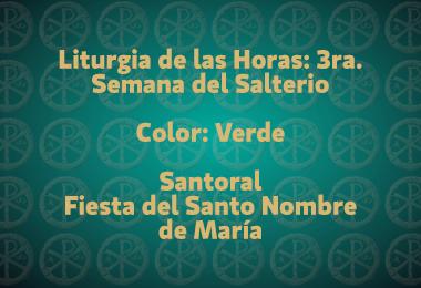 Liturgia-del-día-Tiempo-Ordinario-12-septiembre-2015