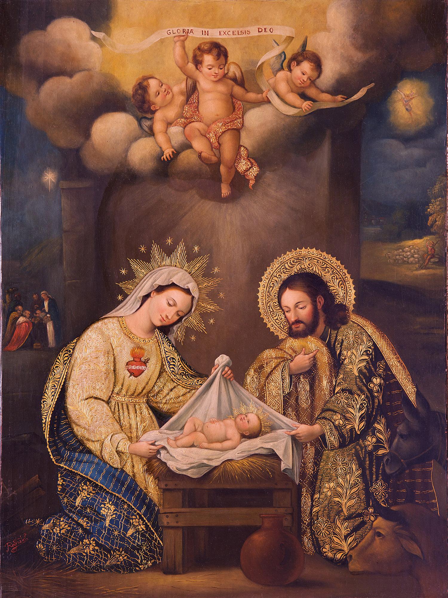 Imagenes Sagrada Familia Navidad.La Sagrada Familia Vivia Sujeto A Ellos Mvc