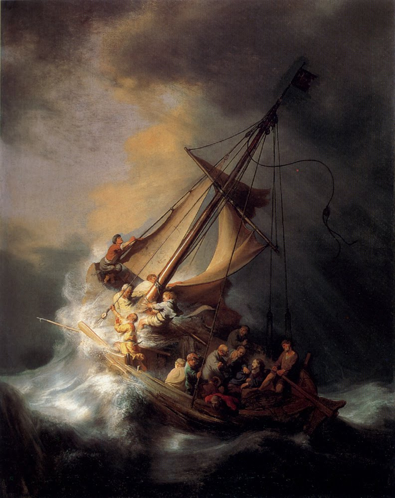 Rembrandt, Storm on the Sea of Galilee, 1633