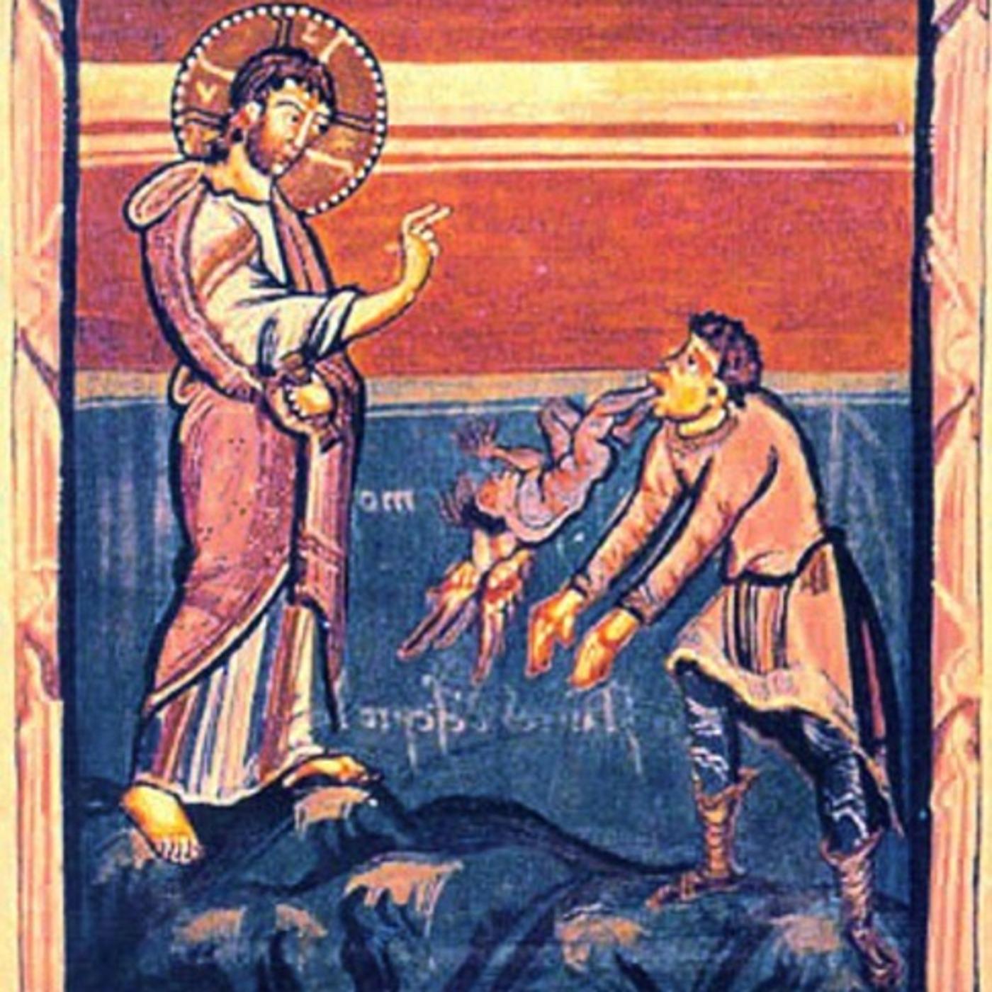 Jesus saca demonio