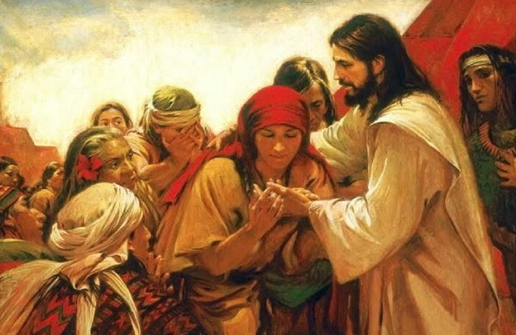 Jesús y la gente