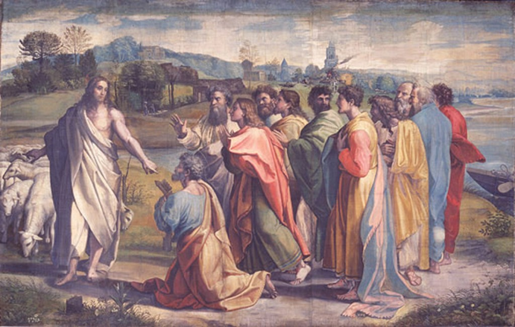 raphael_2'Christ's Charge to Peter