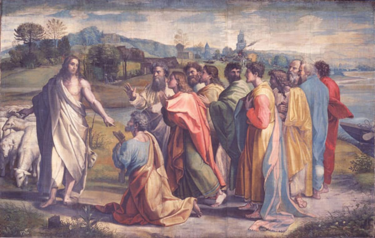 Resultado de imagen de «Señor, ¿a quién iremos?   Tú tienes palabras de vida eterna»