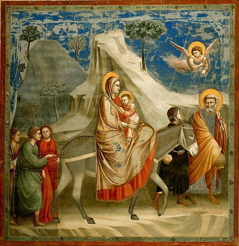 Huida a Egipto Giotto38