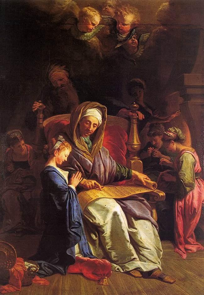 4-JOUVENET-Jean-Baptiste-the-education-of-the-virgin-1700