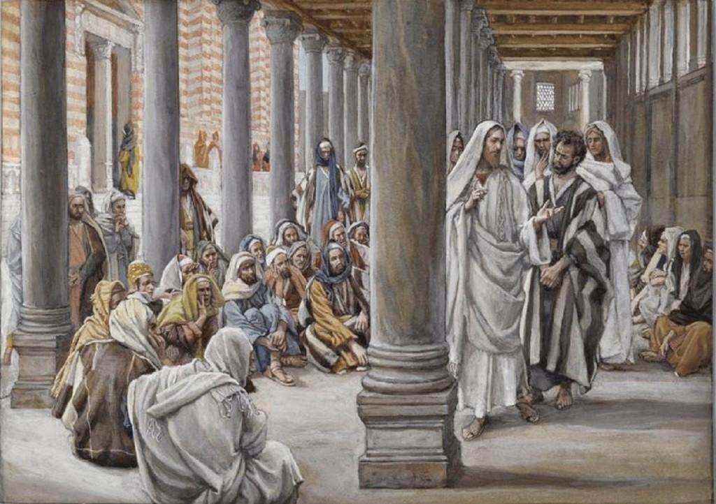 Jesus Walks in the Portico of Solomon