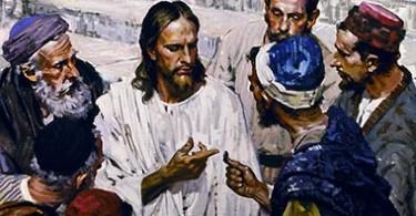 Jesus y fariseos DESTAQUE
