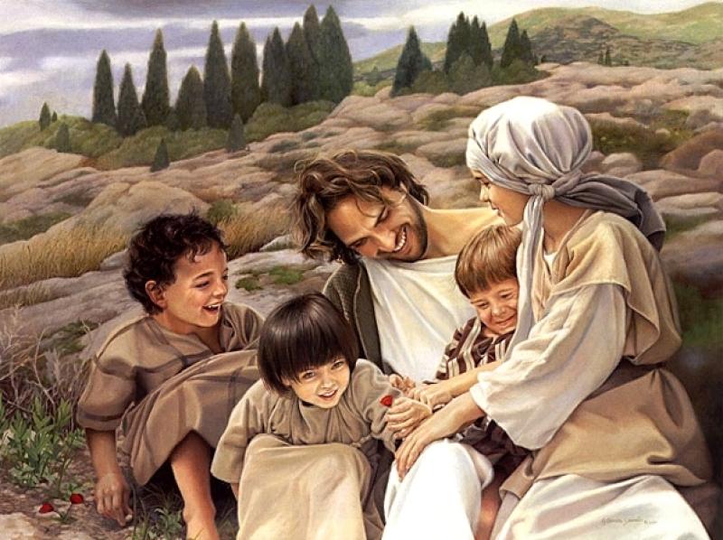 Jesus y niños 2