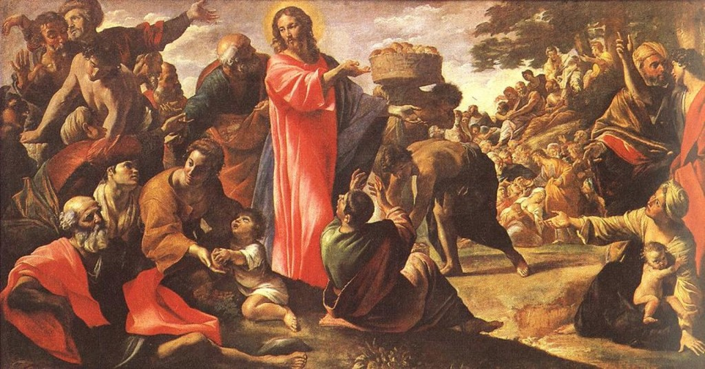 The Multiplication of the Loaves and Fishes Giovanni Lanfranco