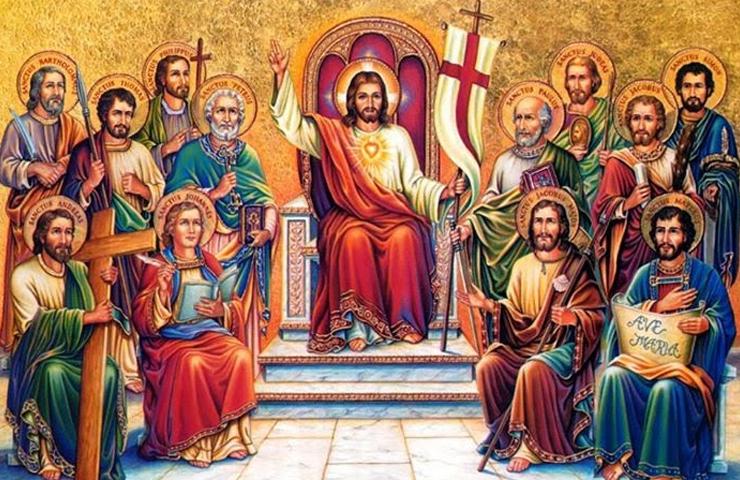 cristo-con-santos