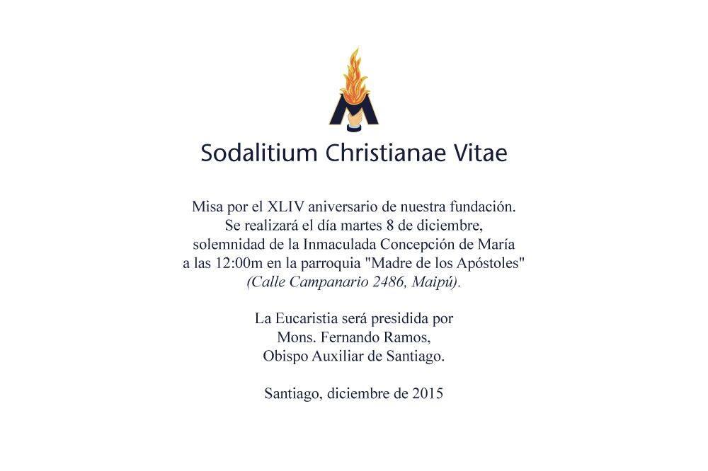 Misa 8 Santiago de Chile