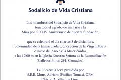 Misa 8 Lima - Perú
