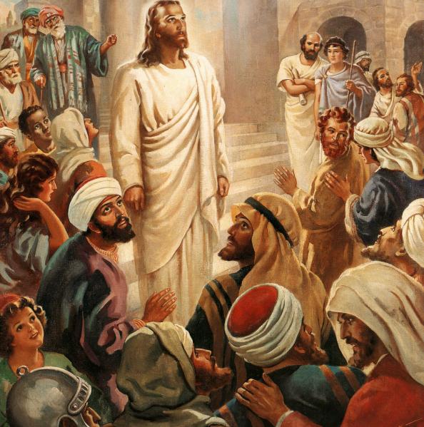 """Oración del miércoles: """"Jesús recorría las poblaciones de los ..."""